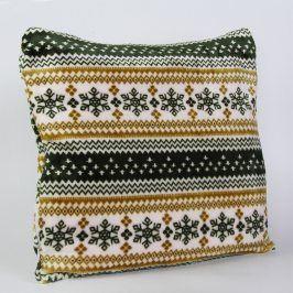 Povlak na polštářek Nordic zelený 40x40 cm polyester