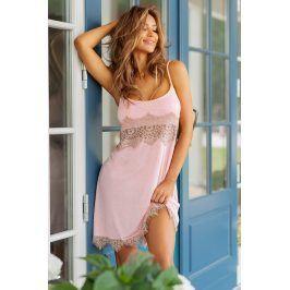 Dámská elegantní košilka Adell  růžová