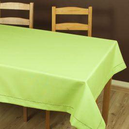 Ubrus Anna zelený 40x140 cm polyester