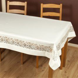 Ubrus Colette krémový 85x85 cm polyester