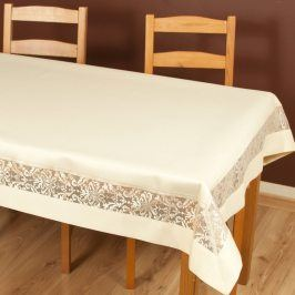 Ubrus Colette zlatý 40x40 cm polyester