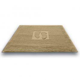 Koupelnová předložka Stopa béžová 50x70 cm bavlna