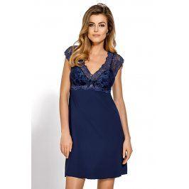 Elegantní košilka Clara  modrá