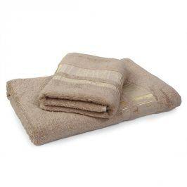 Bambusový ručník Jambi světle hnědý 50x90 cm Ručník