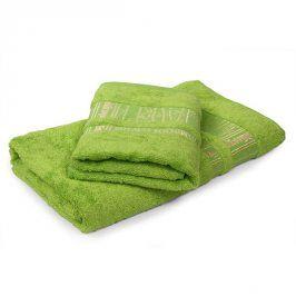 Bambusový ručník Jambi světle zelený 50x90 cm Ručník