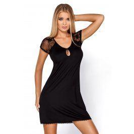 Elegantní košilka Hillary Black  černá