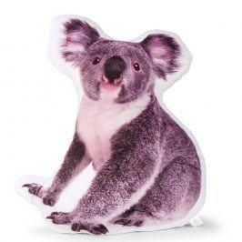 Dekorační polštář Koala 40x45 cm šedá