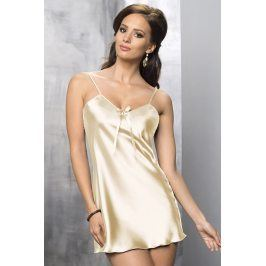 Elegantní košilka Aria Cream  krémová