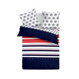 Povlečení Navy 220x200 dvojlůžko - standard bavlna