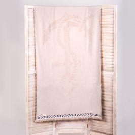 Plážová osuška Noemi béžová 90x170 cm béžová