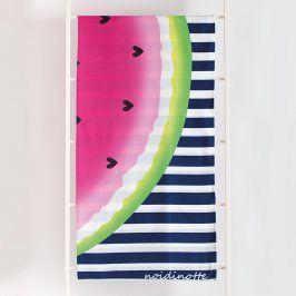 Plážová osuška Watermelon 90x170 cm barevná