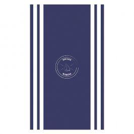 Plážová osuška Escale Marine 100x170 cm modrá