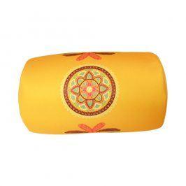 Polštářek Mandala žlutý 30x17 cm žlutá