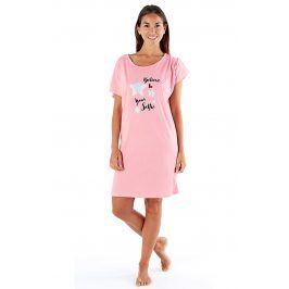 Noční košile Beleive In  růžová
