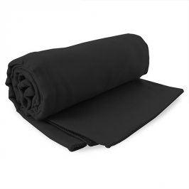 Rychleschnoucí ručník Ekea černý 60x120 cm černá
