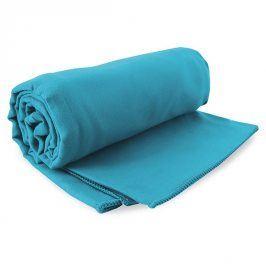 Rychleschnoucí ručník Ekea tyrkysový 60x120 cm tyrkysová