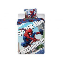 Povlečení Spider Man barevné 140x200 jednolůžko - standard bavlna