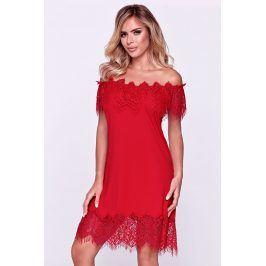 Dámská elegantní košilka Sevilla červená  červená