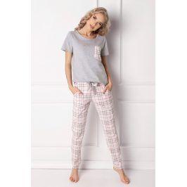 Dámské pyžamo Londie dlouhé  bílá