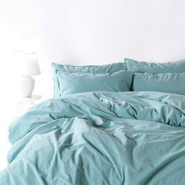 Povlečení Stonewash světle modré 140x200 jednolůžko - standard bavlna