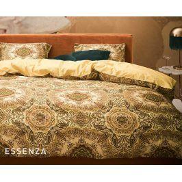 Povlečení Essenza Gold 140x200 jednolůžko - standard Bavlněný satén