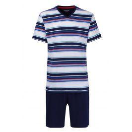 Pánské pyžamo CECEBA Red 5XL plus nežehlivé  vícebarevná