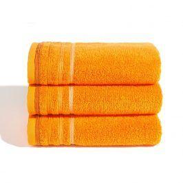 Ručník Jasmina oranžový 30x50 cm Ručník malý