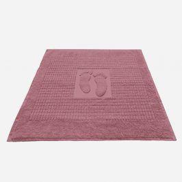 Koupelnová předložka Stopa fialová 50x70 cm bavlna