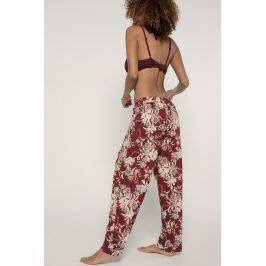 Dámské kalhoty na spaní Muriel  burgund