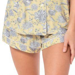 Dámské pyžamové šortky Stephanie  žlutá