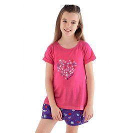 Dívčí pyžamo Mermaid club  barevná