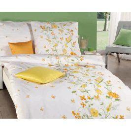 Povlečení Viola žluté 140x200 jednolůžko - standard bavlna