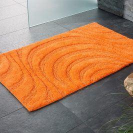 Koupelnová předložka Jaipur oranžová 60x100 cm oranžová