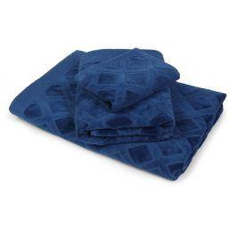 Malý ručník Charles modrý 30x50 cm Ručník malý