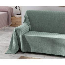 Přehoz Aitana zelený 180x270 cm zelená