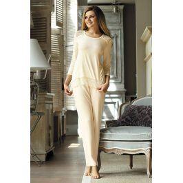 Dámské elegantní pyžamo Olimpia  ecru