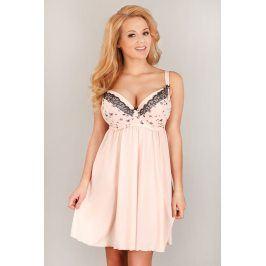 Elegantní košilka Butterfly  růžová