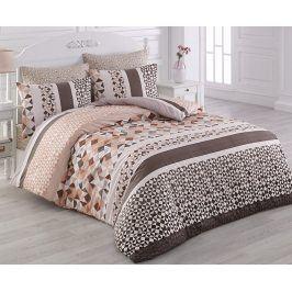 Povlečení Laviva hnědé 220x200 dvojlůžko - standard bavlna