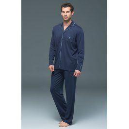 Pánské pyžamo BLACKSPADE Lion Navy modalové  tmavěmodrá