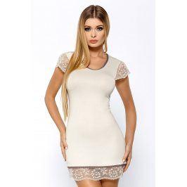 Elegantní košilka Roxy Ecru  ecru