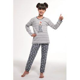 Dívčí pyžamo Bear  melange