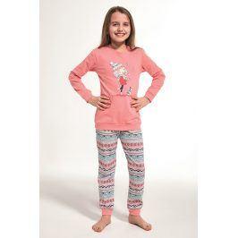 Dívčí pyžamo Walk  růžová