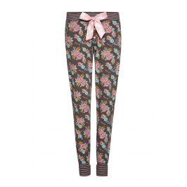 Dámské kalhoty na spaní Roses  hnědá