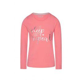 Dámské tričko na spaní Sweet life  růžová