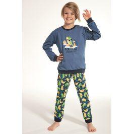 Chlapecké pyžamo Pepperoni  modrá