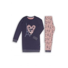 Dívčí pyžamo Paris 02  světlemodrá