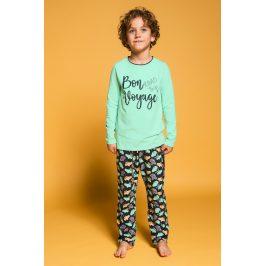 Chlapecké pyžamo Bon Voyage  tyrkysova