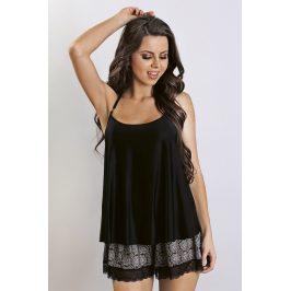 Luxusní pyžamo Sheila  černá