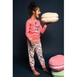 Dívčí pyžamo Sweet life  růžová