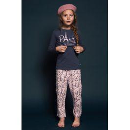Dívčí pyžamo Paris 01  nám.modrá